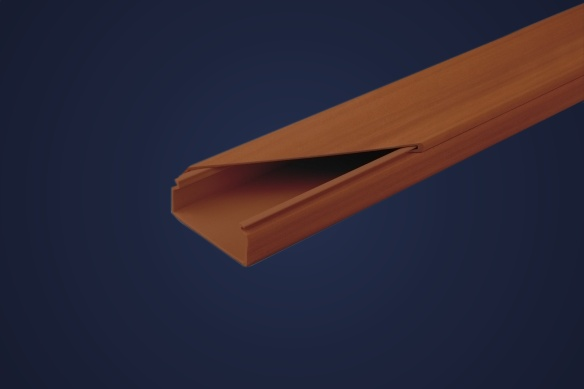 Wood-like Cable Ducting